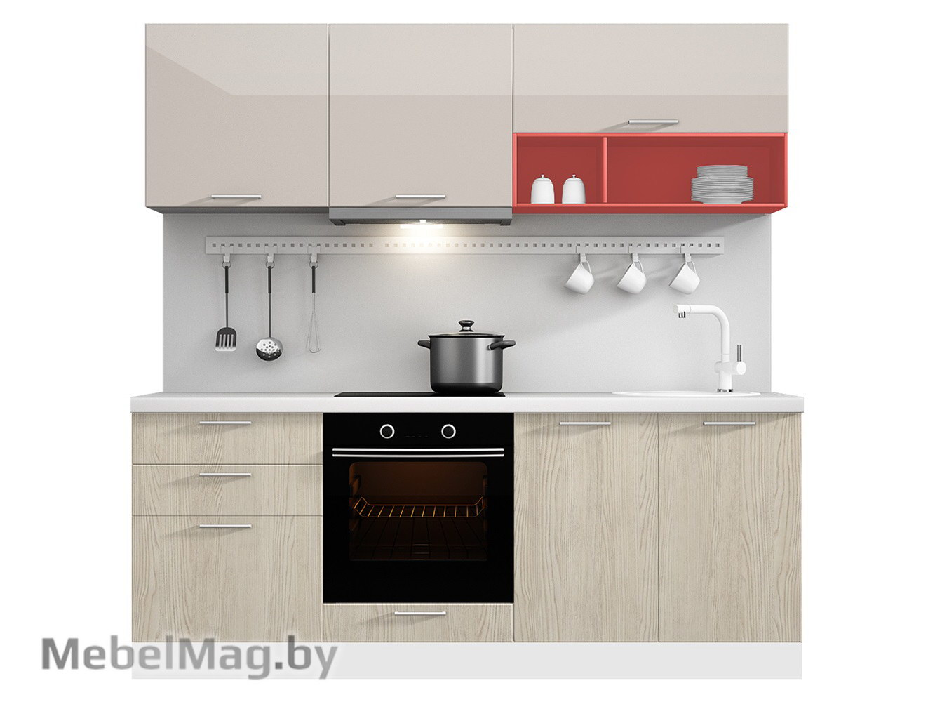 Кухня Brillo 2100 VKS009