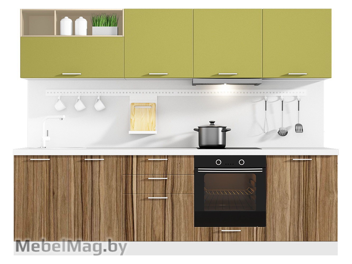 Кухня Colore 2700 VKS156