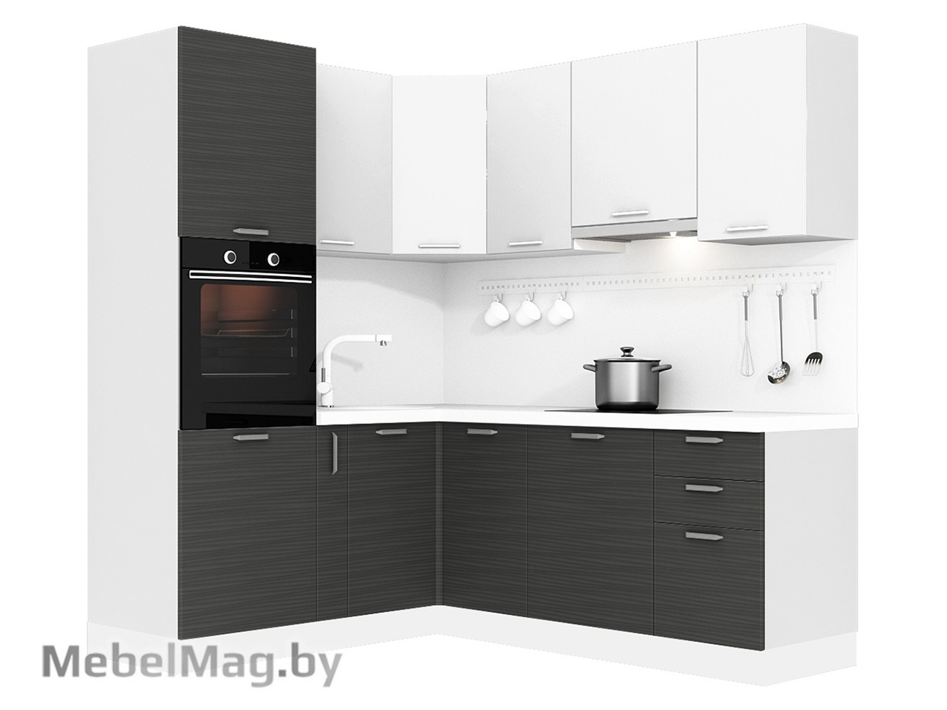 Кухня Tela 1800х2100 VKS323