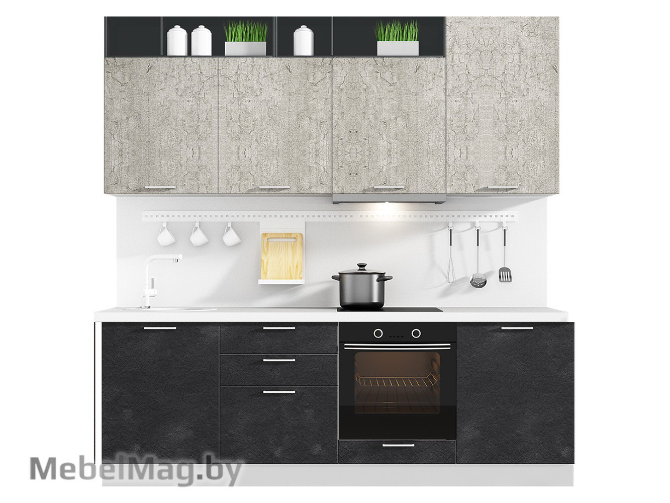 Кухня Plastica 2400 VKS127