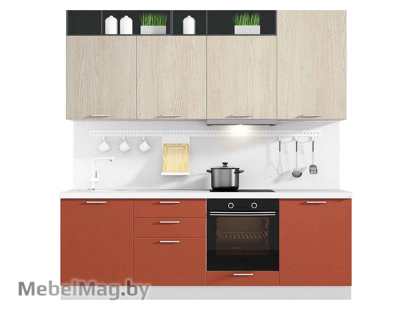 Кухня Plastica 2400 VKS126