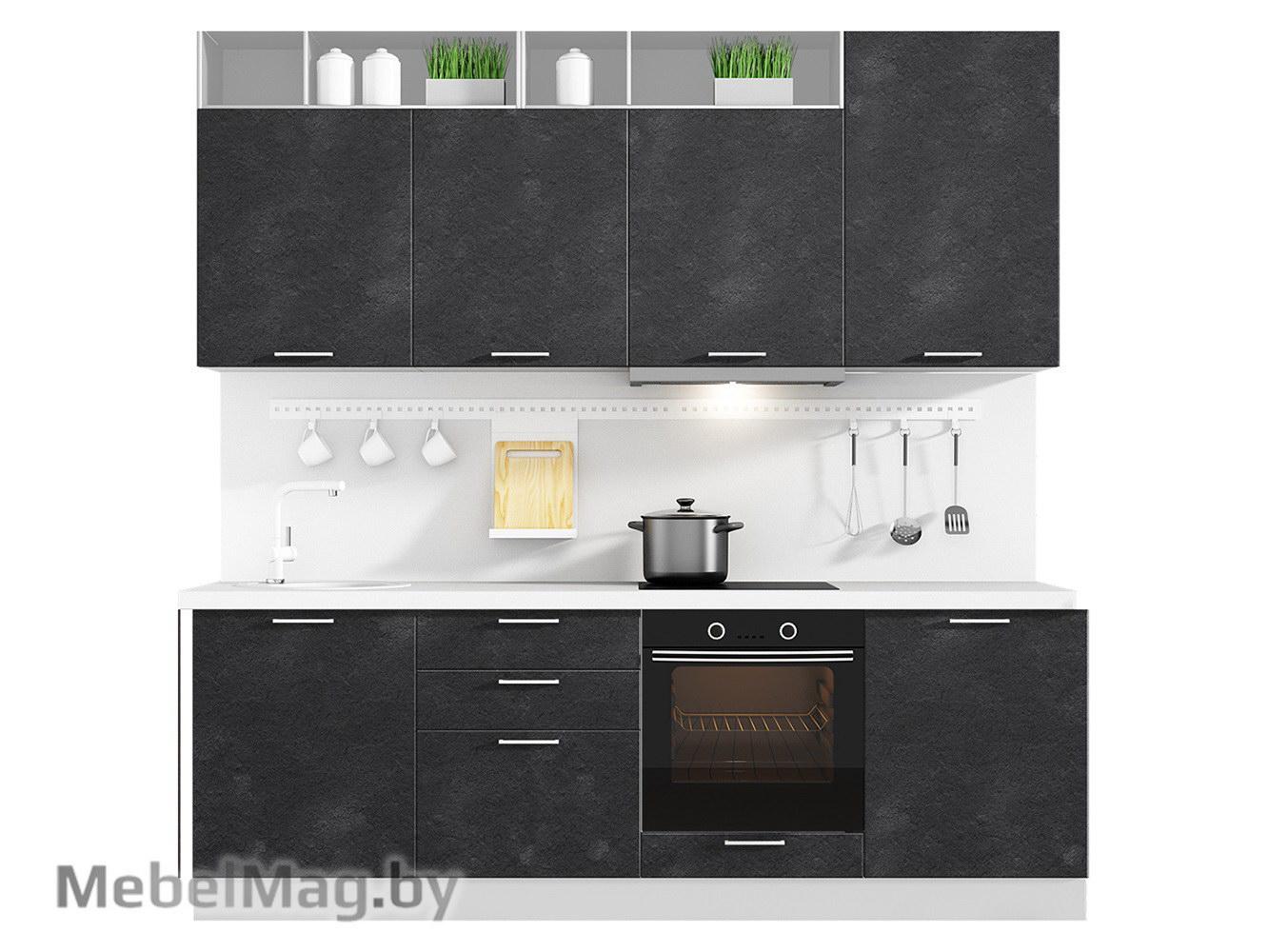 Кухня Plastica 2400 VKS125