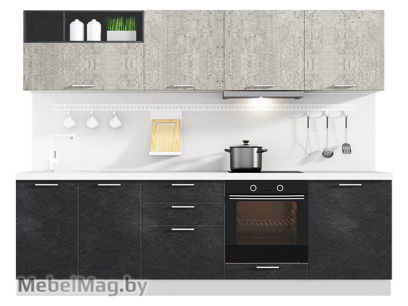 Кухня Plastica 2700 VKS174