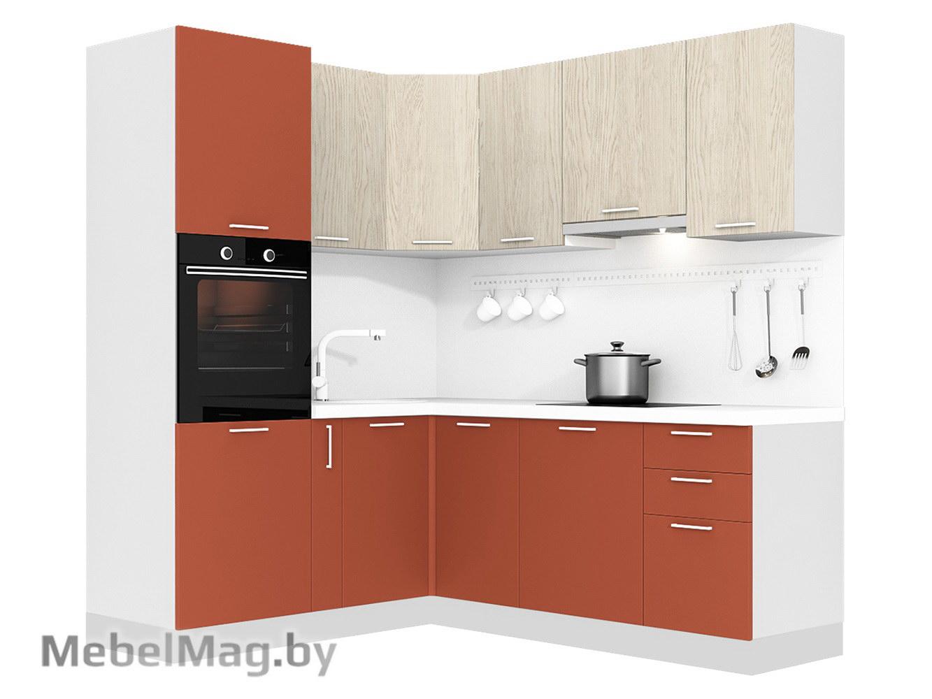 Кухня Plastica 1800x2100 VKS308