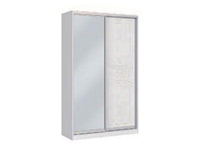 Шкаф-купе 2х створчатый Белая 701 - Спальня Шарлота