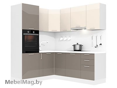 Кухня Brillo 1800х2100 VKS292