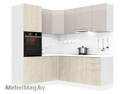 Кухня Brillo 1800х2100 VKS290