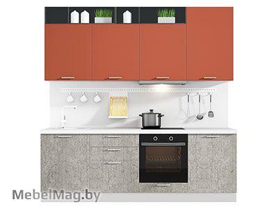 Кухня Plastica 2400 VKS129