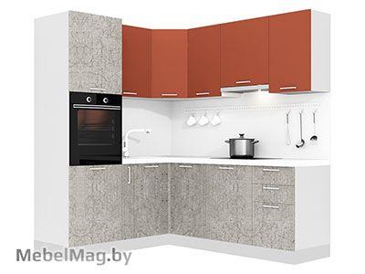 Кухня Plastica 1800x2100 VKS311
