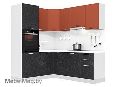 Кухня Plastica 1800x2100 VKS310