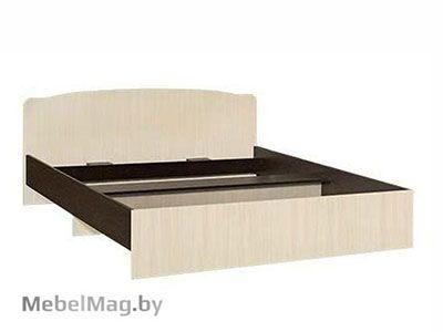 Кровать односпальная фигурная спинка 900мм Венге - Коллекция Светлана