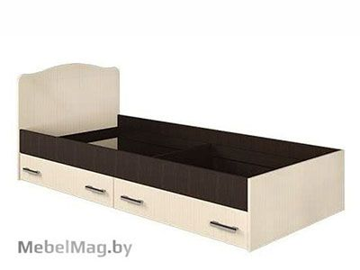 Кровать с ящиками Венге - Коллекция Светлана