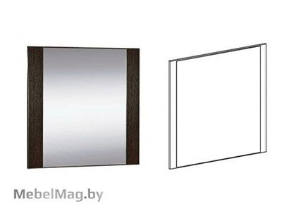 Зеркало  Венге - Спальня Софи