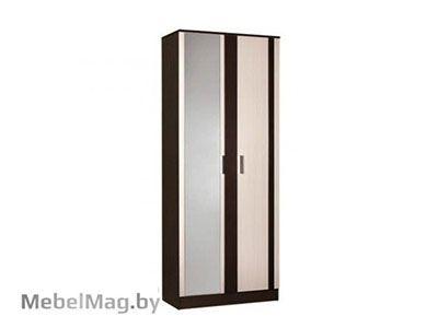 Шкаф 2-х створчатый Венге/Дуб молочный - Спальня Софи