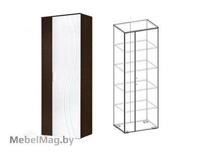 Шкаф бельевой Венге/Белый глянец - Стенка Адриана