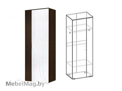 Шкаф платяной Венге/Белый глянец - Стенка Адриана