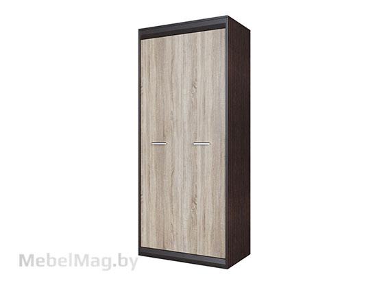 Шкаф Дуб Венге/Дуб Сонома - Коллекция Гамма 19