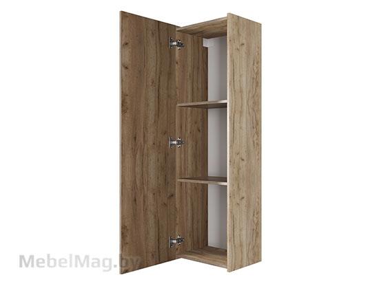 Шкаф навесной вертикальный 400 Галифакс табак - Коллекция Ницца
