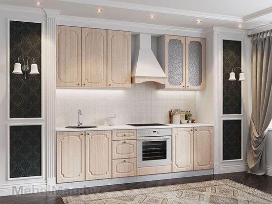 Кухня Классика ясень шико светлый