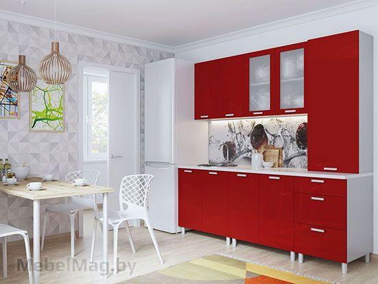 Кухня Модерн Гранат с ПН500