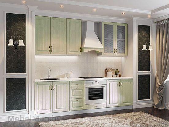 Кухня Прованс фисташковый структурный