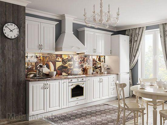 Кухня Прованс с багетом