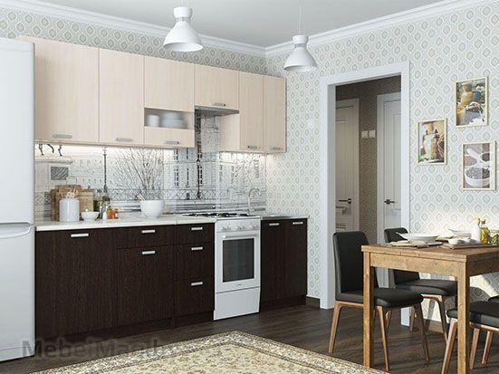 Кухня Розалия Дуб венге/Дуб млечный