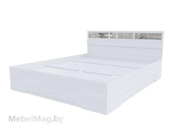 Кровать 1,6*2,0 Ясень Анкор светлый - Модульная система Николь 1