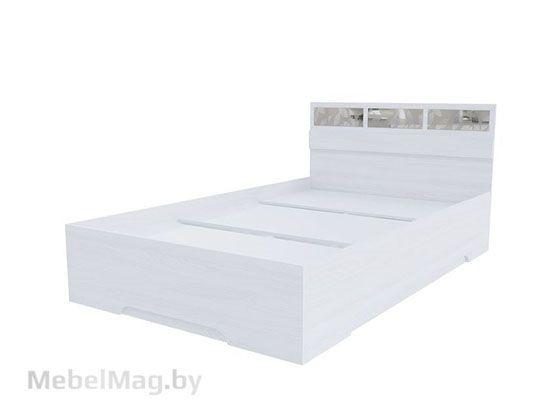 Кровать 1,2*2,0 Ясень Анкор светлый - Модульная система Николь 1