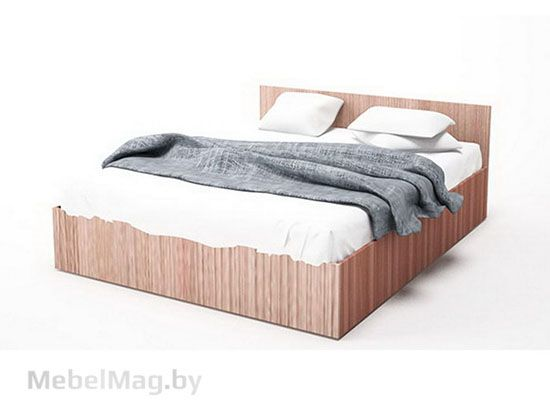 Кровать двойная 1,4*2,0 Ясень Шимо тм./Ясень Шимо св. - Коллекция Эдем 5