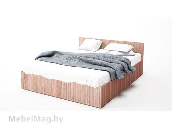 Кровать двойная 1,6*2,0 Ясень Шимо тм./Ясень Шимо св. - Коллекция Эдем 5