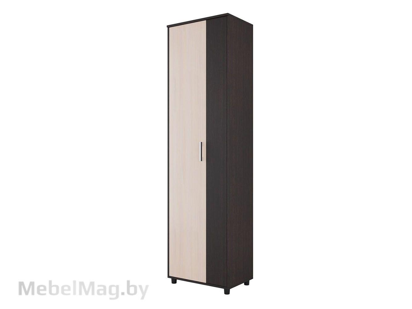 Шкаф двухстворчатый Дуб Венге/Дуб млечный - Прихожая №2