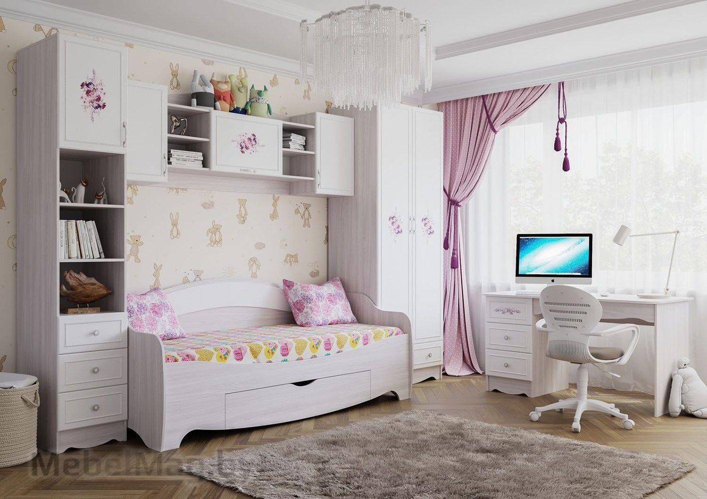 Детская Акварель 1 - Цветы набор 2