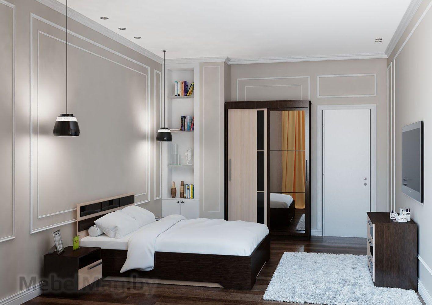 Спальня Эдем 2 - Венге набор 3