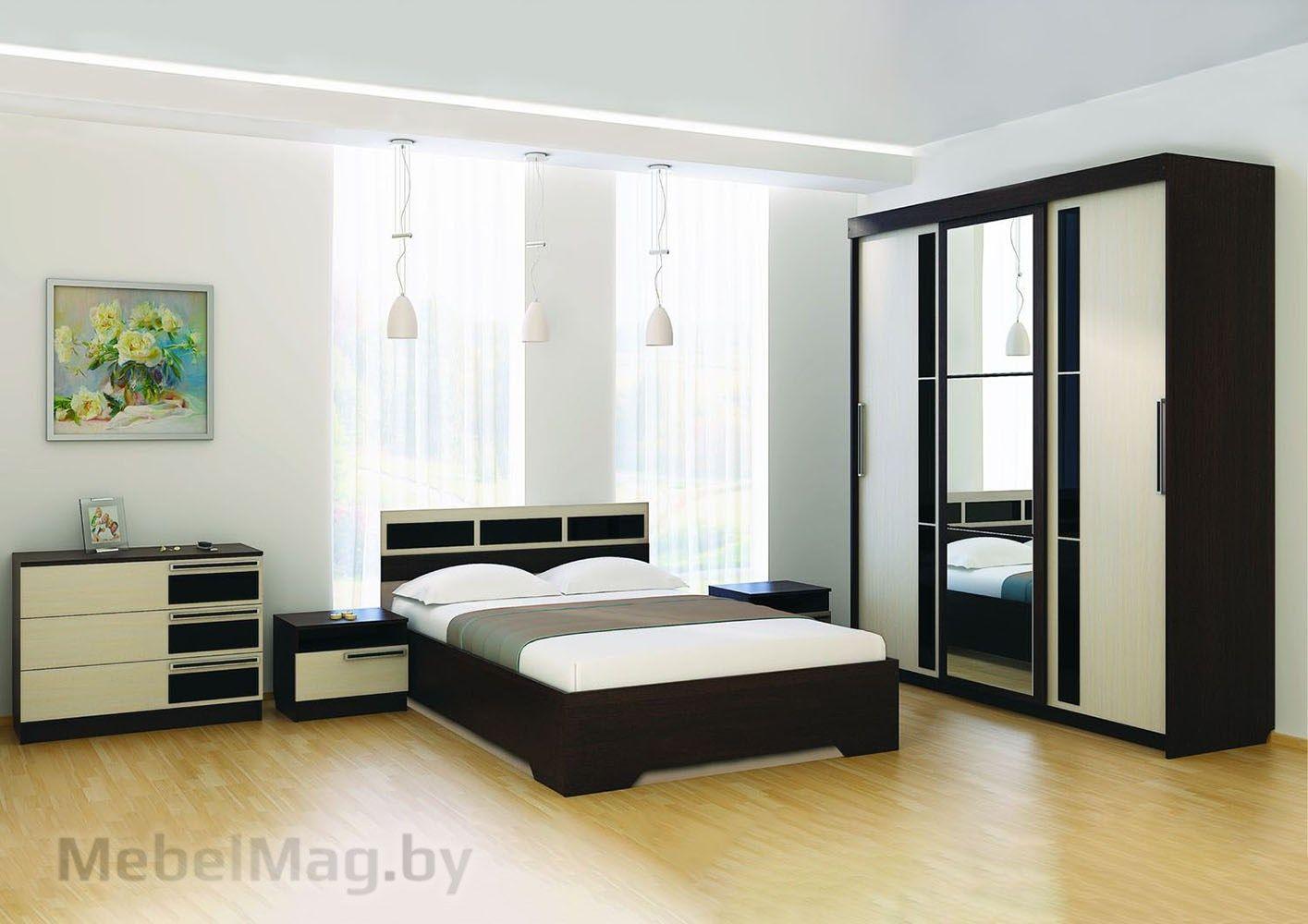 Спальня Эдем 2 - Венге набор 4