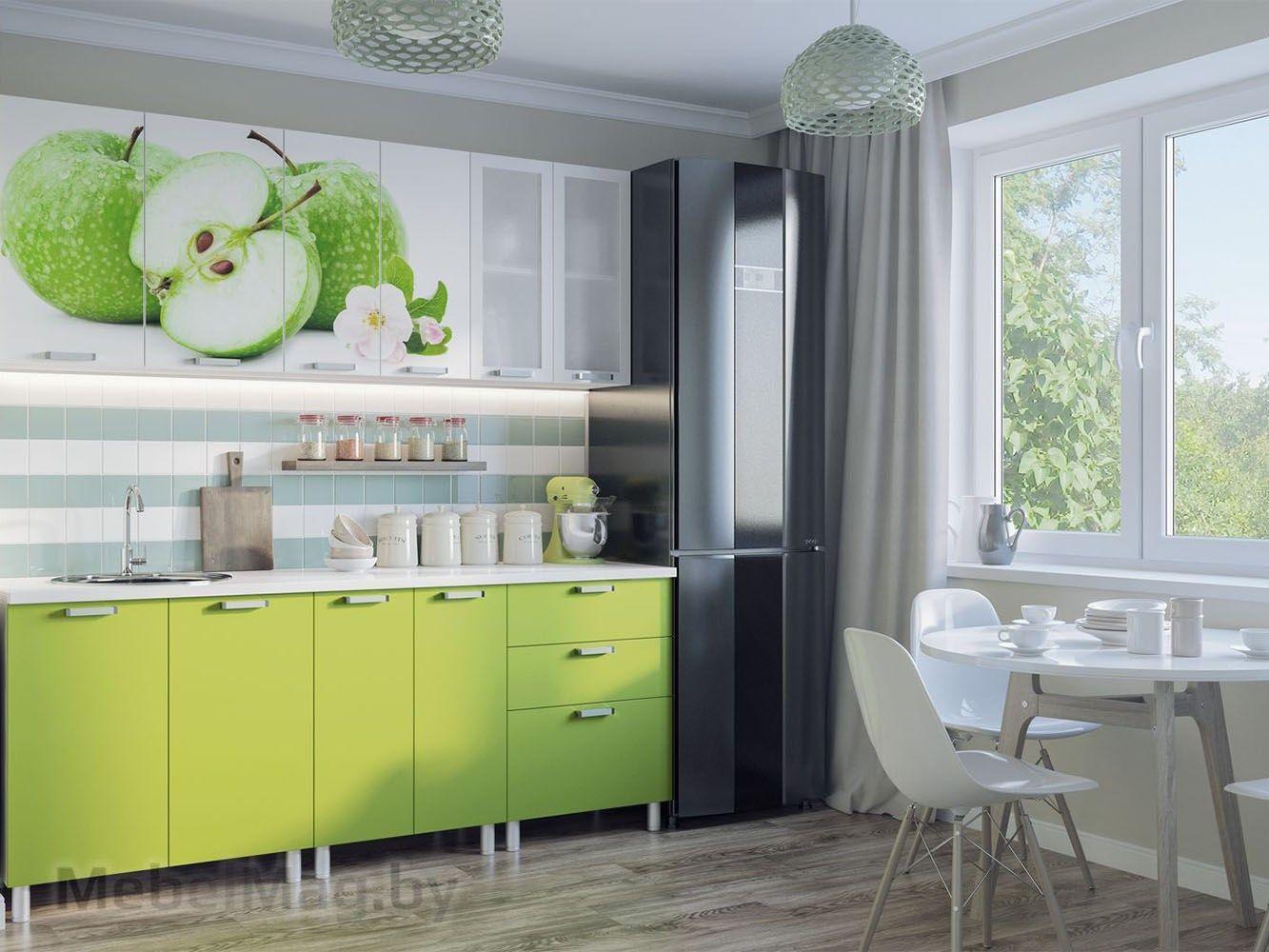 Кухня Фрукты - Яблоки 2.0
