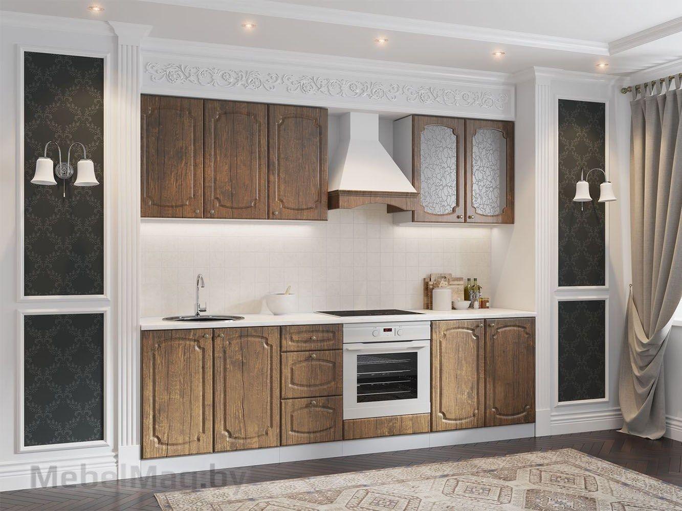 Кухня Классика - Дуб Антик (2,6м) 720