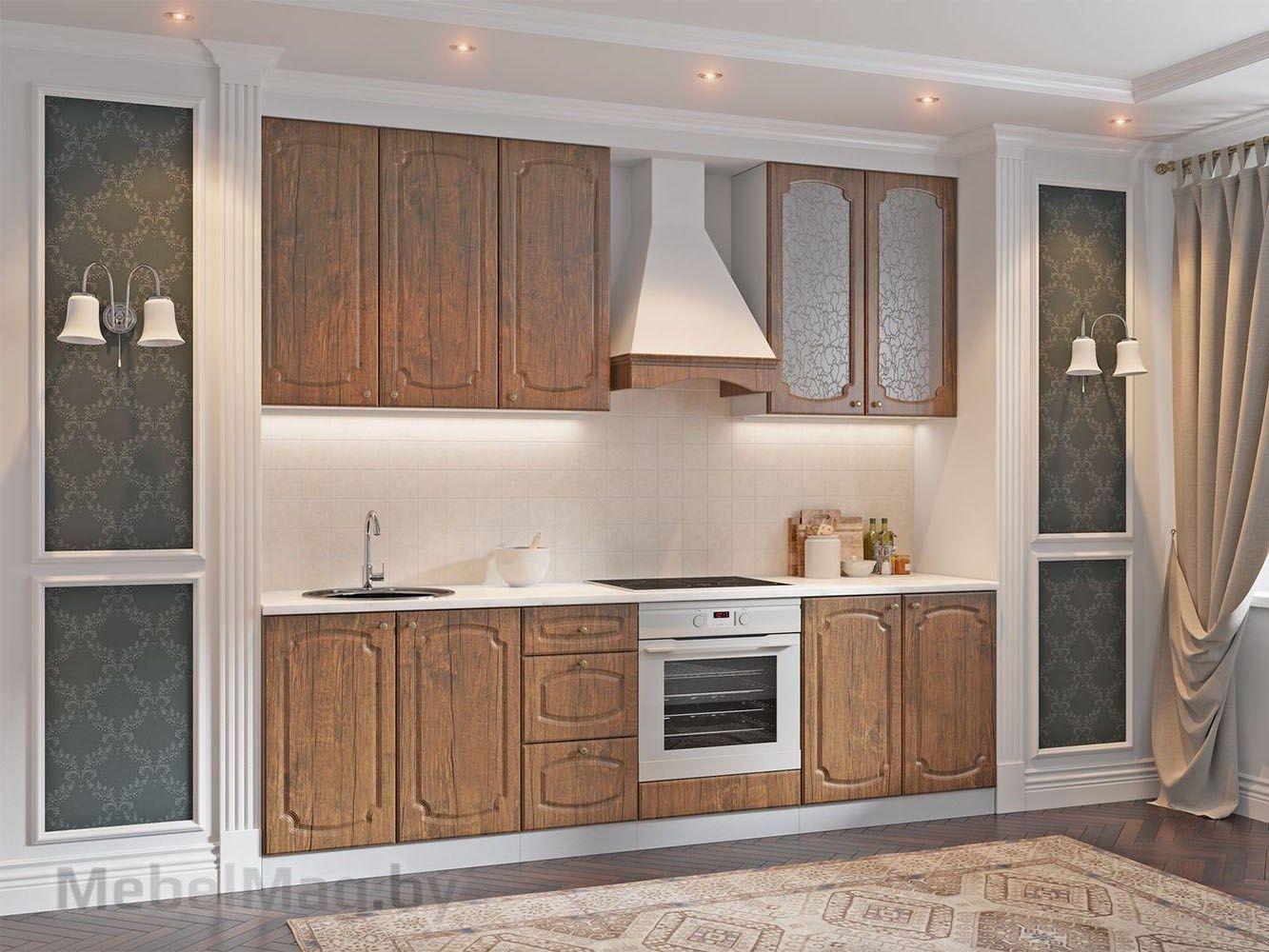 Кухня Классика - Дуб Антик (2,6м) 912