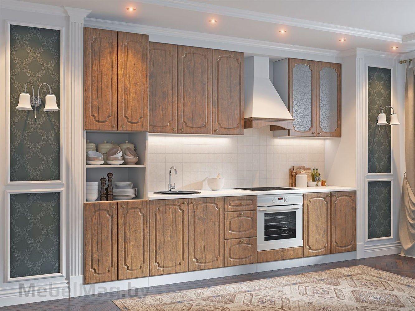 Кухня Классика - Дуб Антик (3,2м) 912