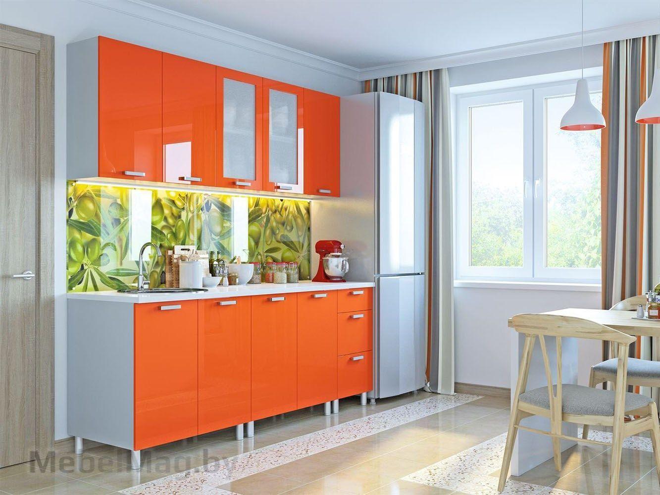 Кухня Модерн - Оранж (н1)