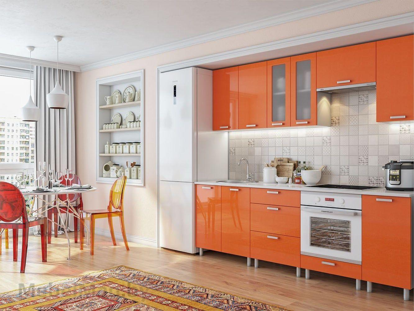 Кухня Модерн - Оранж (н2)