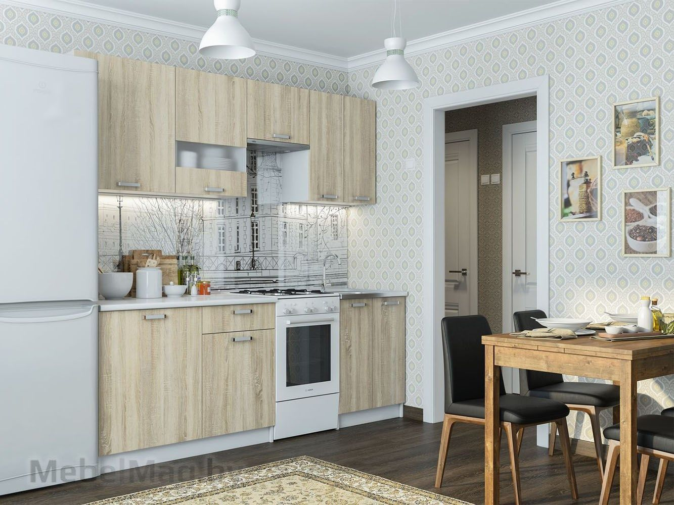 Кухня Розалия (1,7м)
