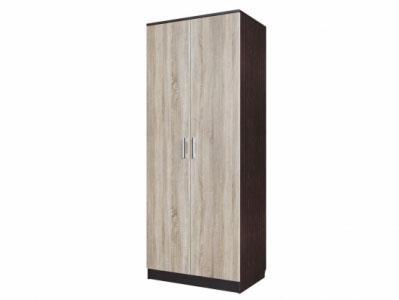 Шкаф двухстворчатый накладн. Дуб Венге/ Сонома - Коллекция Эдем 5