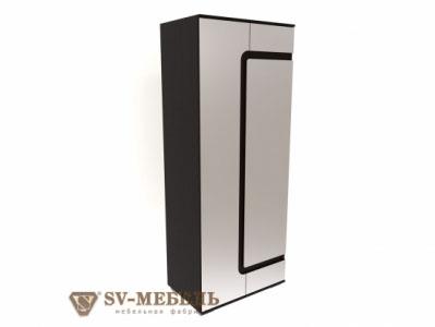 Шкаф комбинированный Дуб Венге/Жемчуг - Коллекция Нота 25