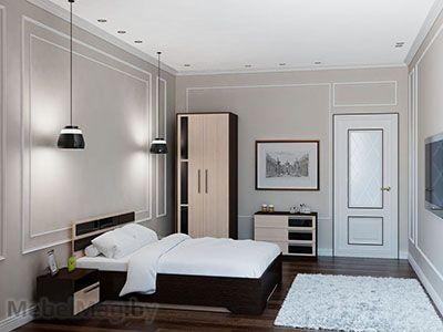 Спальня Эдем 2 - Венге набор 1