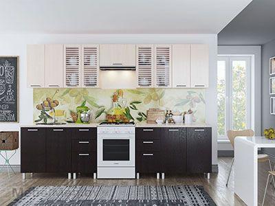 Кухня Карамель 3м - Венге