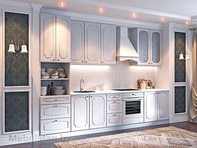 Кухня Классика - Сосна белая (3,2м) 912
