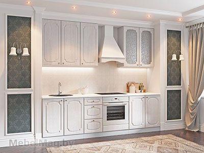Кухня Классика Сосна белая (2,6м) 912