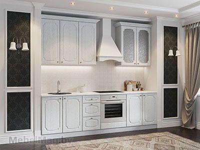 Кухня Классика - Сосна с багетом (2,6м) 912