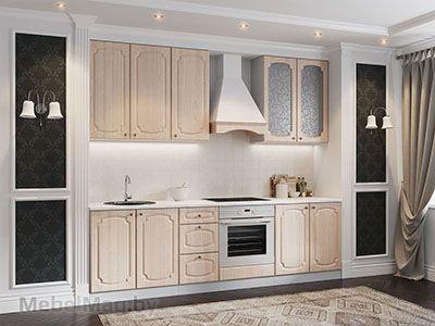 Кухня Классика - Ясень шимо светлый (2,6м) 912